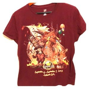 Dragon Con T Shirt Atlanta, GA 2015 XL